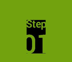 step1 まずはじめに!