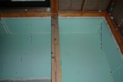 step5 木工事・屋根工事・断熱工事 断熱材の取り付け